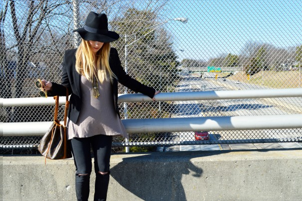 outfit post wearing free people shirt
