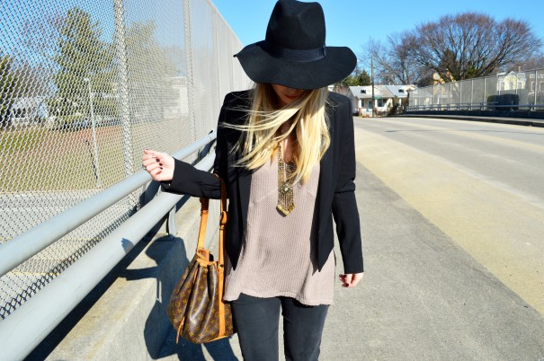 outfit post how to style hats