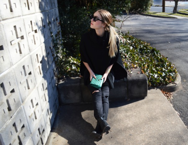 fashion blogger outfit tunic