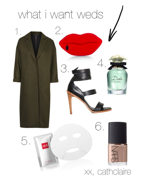 fashion blogger wish list